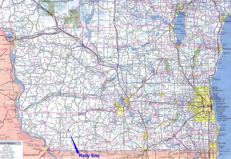 Hiwaymap Highway 39 Wisconsin